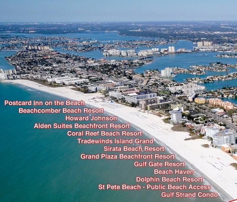 Treasure Island Beach: Pinellas Beach City Gallery